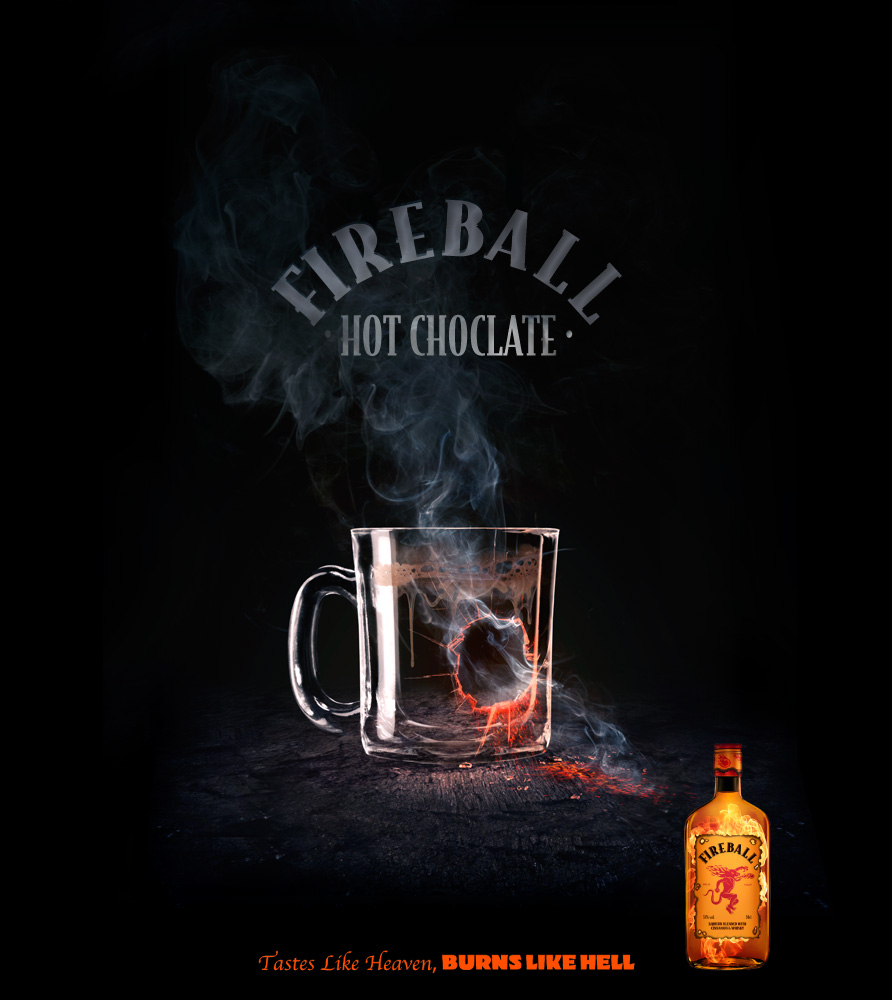 Fireball Hot Choclate
