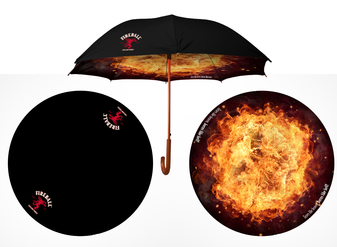 Fireball Umbrella