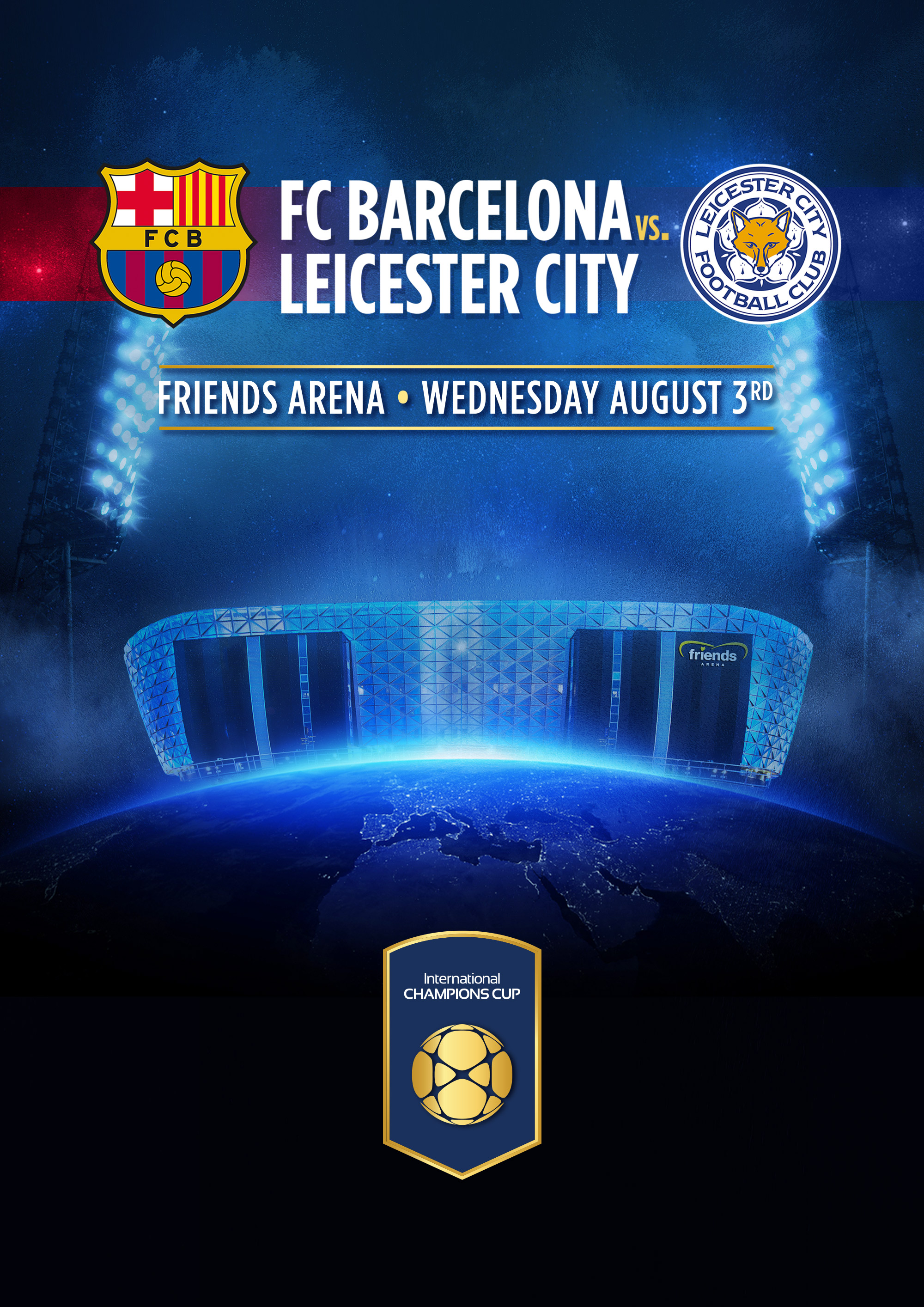 FC Barcelona vs. Leicester City