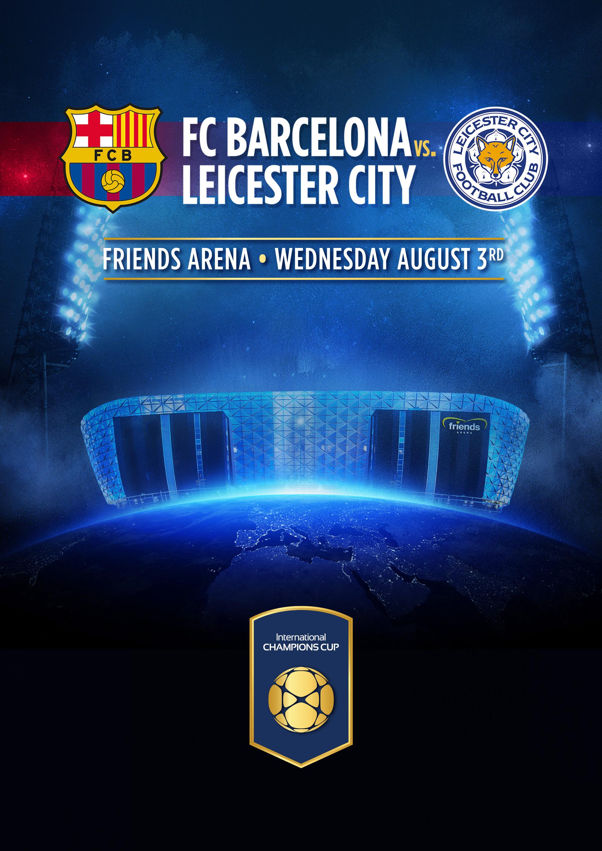 FC Barcelona vs. Leicester City